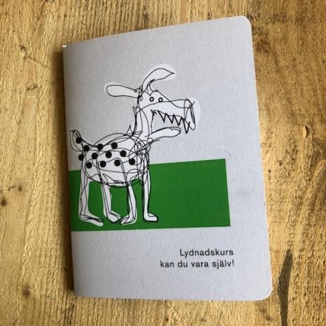 Liten skissbok - Lydnadskurs