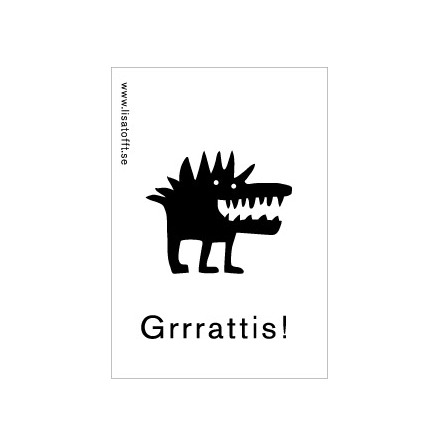 Magnet 2001-51 grrattis
